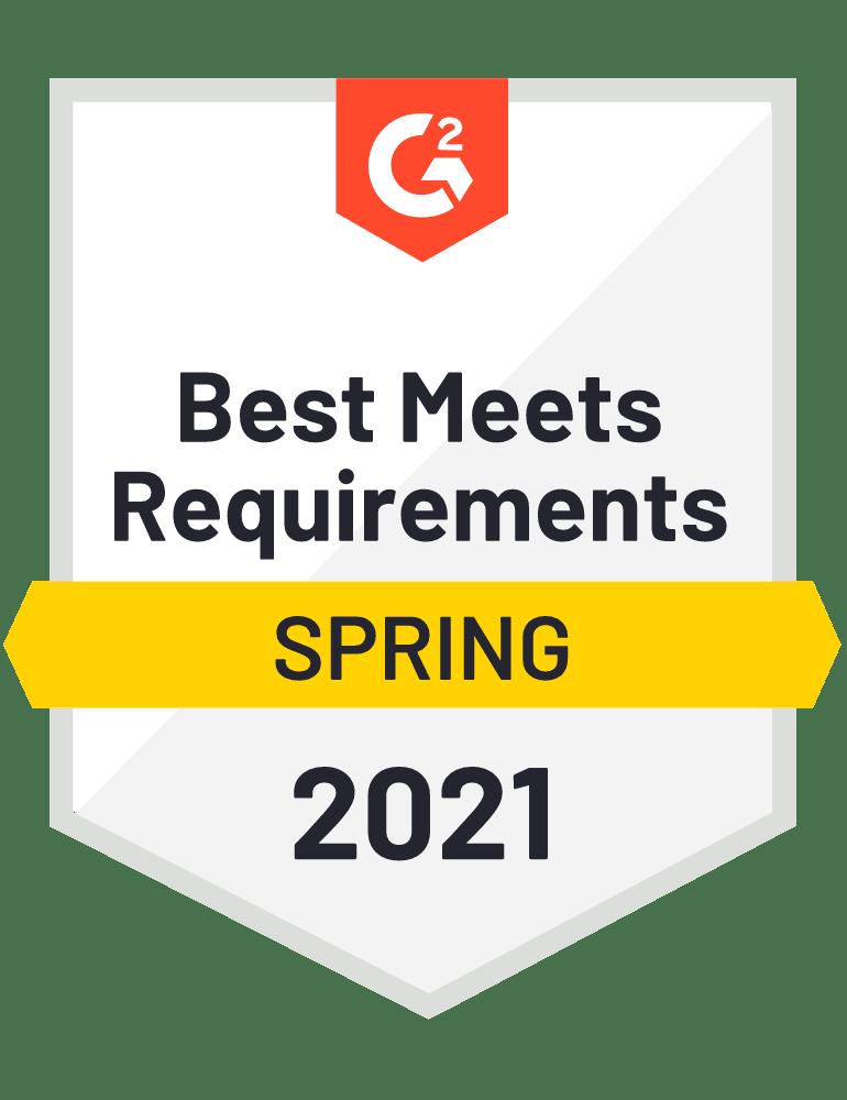 2021 Meets Requirements