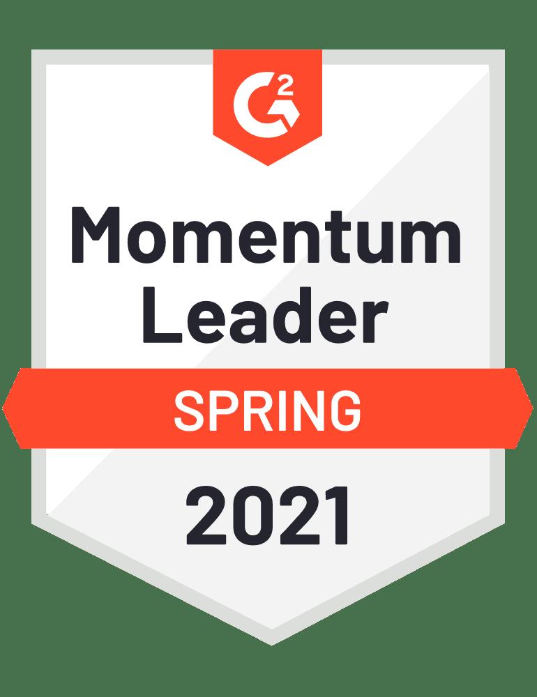 medal 2021 TMS Momentum Leader
